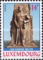 [The 75th Anniversary of the Death of Jean Schortgen, 1880-1918, type AKV]