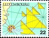 [EUROPA Stamps - Great Discoveries, type ALJ]