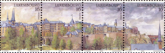 [City of Luxembourg - Panoramic View, Typ AMI]