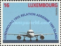 [The 40th Anniversary of the Iceland-Luxembourg Air Route, Typ AMQ]