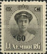 [Grand Duchess Charlotte - Surcharged, type AN]