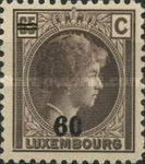 [Grand Duchess Charlotte - Surcharged, type AO]