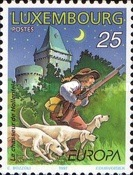 [EUROPA Stamps - Tales and Legends, type AOJ]
