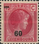 [Grand Duchess Charlotte - Surcharged, type AP]