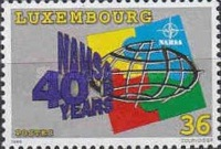 [The 40th Anniversary of NATO Maintenance and Supply Agency, type AQD]