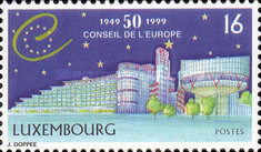 [The 50th Anniversary of the Council of Europe, Typ AQI]