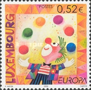 [EUROPA Stamps - The Circus, type BAV]