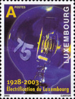 [The 75th Anniversary of the Electrification of Luxembourg, type BBZ]