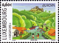 [EUROPA Stamps - Holidays, type BDE]