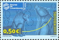 [The 75th Anniversary of the Luxembourg Stock Exchange, type BDJ]