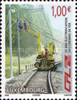 [The 50th Anniversary of Electrification of the Luxembourg Railway Network, type BFS]