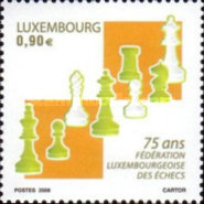 [The 75th Anniversary of the Luxembourg Chess Federation, type BFZ]