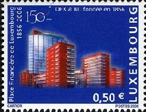 [The 150th Anniversary of the Financial Centre of Luxembourg, type BGA]