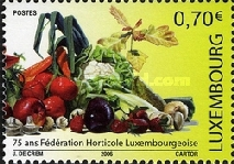 [The 75th Anniversary of the Luxembourg Horticultural Federation, type BGK]