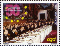 [The 50th Anniversary of the Treaty of Rome, Typ BGV]