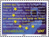[The 50th Anniversary of the Treaty of Rome, type BGW]