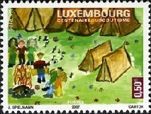[EUROPA Stamps - The 100th Anniversary of Scouting, Typ BHF]
