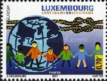 [EUROPA Stamps - The 100th Anniversary of Scouting, Typ BHG]