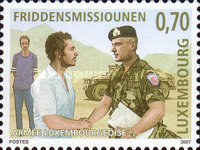 [Peacekeeping Missions of the Luxembourg Army - FORPRONU, United Nations Protection Forces in Former Yugoslavia, type BHO]