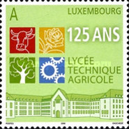 [The 125th Anniversary of Agricultural Education in Ettelbruck, type BIT]