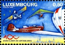[The 100th Anniversary of the Federation Aeronautique Luxembourg, type BJU]