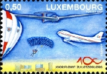 [The 100th Anniversary of the Federation Aeronautique Luxembourg, type BJV]