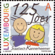 [The 125th Anniversary of the Children's Houses of the State of Luxembourg, type BKD]