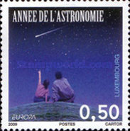 [EUROPA Stamps - Astronomy, type BKG]