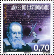 [EUROPA Stamps - Astronomy, type BKH]