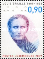 [The 200th Anniversary of the Birth of Louis Braille, 1809-1852, type BKM]