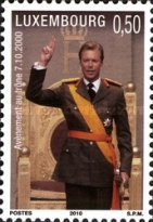 [The 10th Anniversary of the Coronation of H.R.H. Grand Duke Apparent Henri, Typ BLF]