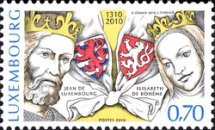 [The 700th Anniversary of the Accession of the Throne by the Housee of Luxembourg - Joint Issue with Czech Republic, Typ BLI]