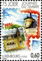 [The 75th Anniversary of Stamp Day, Typ BMU]