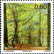 [EUROPA Stamps - The Forest, type BMX]