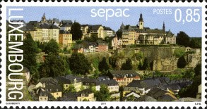 [SEPAC Issue - Landscapes, type BNJ]