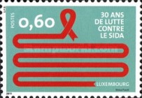 [The 30th Anniversary of Fighting AIDS, type BNK]