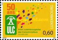 [The 50th Anniversary of the Luxembourg Consumers Union, type BNL]