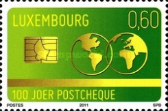 [The 100th Anniversary of the Postchèque, type BNS]