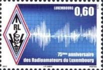 [The 75th Anniversary of Luxembourg Amateur Radio Society, type BNY]