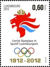 [Olympic Games - London, England - The 100th Anniversary of the National Olympic Committee, type BOC]