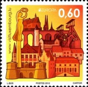 [EUROPA Stamps - Visit Luxembourg, type BOK]