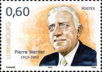 [The 100th Anniversary of the Birth of Pierre Werner, 1913-2002, type BQB]