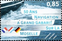 [The 50th Anniversary of  Large-Vessel Shipping on the Moselle, type BQT]