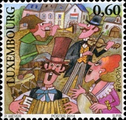 [EUROPA Stamps - Musical Instruments, type BQW]