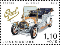 [Charity Stamps - Cars of Yesteryears, type BRN]