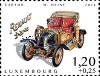 [Charity Stamps - Cars of Yesteryears, type BRO]
