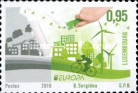 [EUROPA Stamps - Think Green, type BUD]