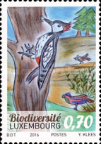 [The POST Luxembourg Grand Prix Children's Drawing Competition - Biodiversity, type BUH]