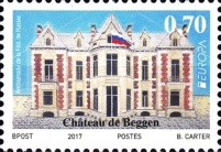[EUROPA Stamps -  Palaces and Castles, Typ BVJ]