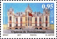 [EUROPA Stamps -  Palaces and Castles, Typ BVK]